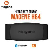 Монитор сердечного ритма Magene H64, нагрудный ремень для фитнеса, уличный Bluetooth 4,0 ANT +, водонепроницаемый датчик сердечного ритма для Wahoo Garmin