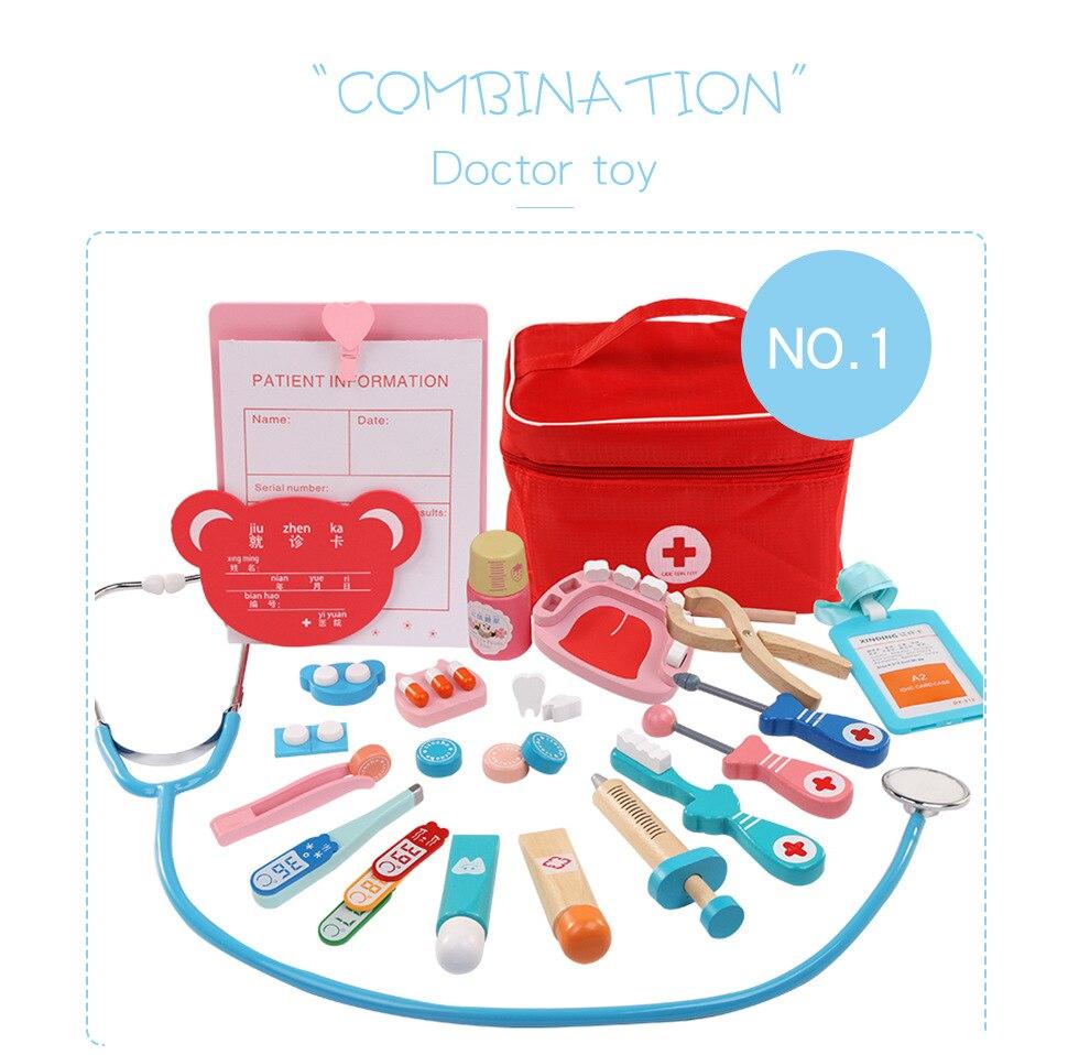 60 pçs set fingir jogar doutor brinquedos