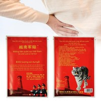10pcs/bag Vietnam White Tiger Balm Patches Back Neck Joint Arthritis Pain Relief Relaxtion Patch Chinese Herbs Medical Plaster