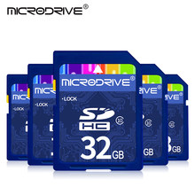 Haute vitesse SD Carte Mémoire 16GB 32GB Flash Carte Mémoire SDXC Carte SDHC C10 128GB 64GB cartao de memoria Pour Appareil Photo