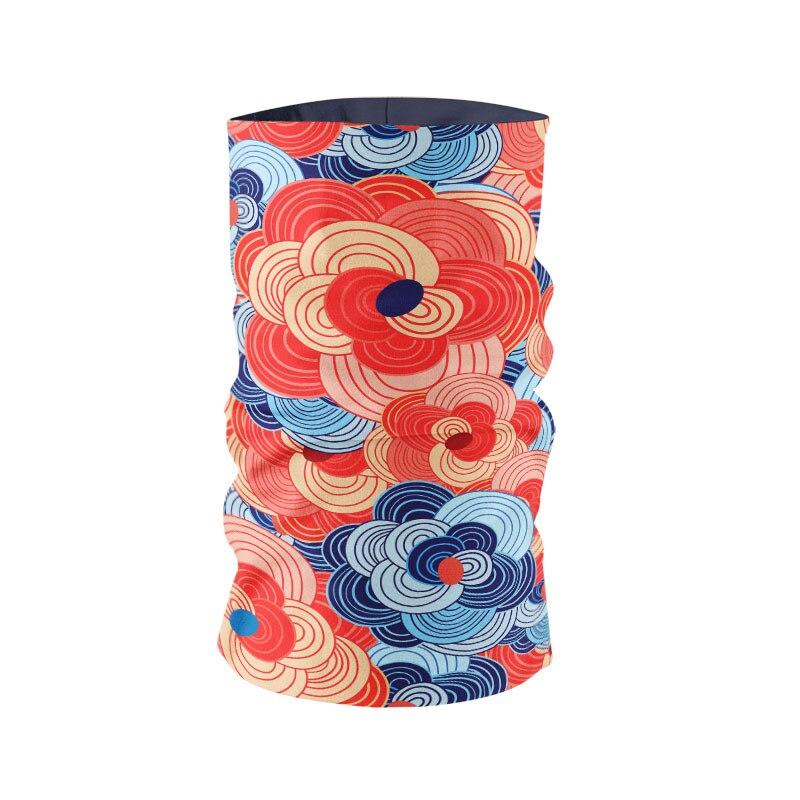 Creative Women Headscarf 3D Printed Japanese Style Abstract Pattern Unisex Bandana Sports Hip Hop Dust Mask Handkerchief bufanda 1