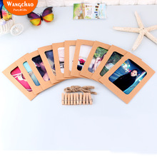 10Pcs DIY Paper Photo Frame Halloween Decoration Wedding Decor Bachelorette Party Christmas Home Background Supplies
