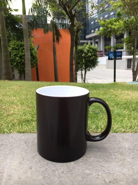 Matte Black Diy Ceramic Heat Sensitive
