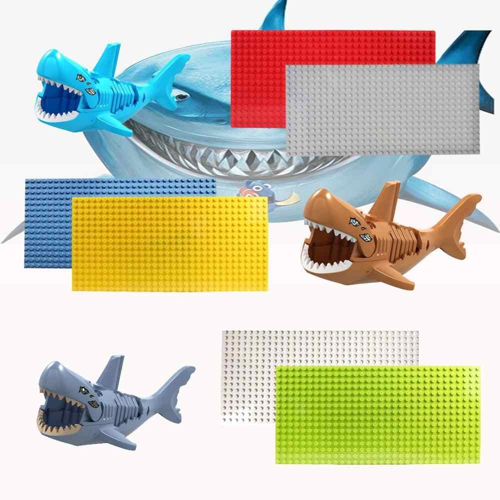 Duplos النقاط قاعدة لوحة للألوان اللوح الأساس مجلس DIY بناء لعبة المكعبات للأطفال متوافق القرش اللبنات zk26