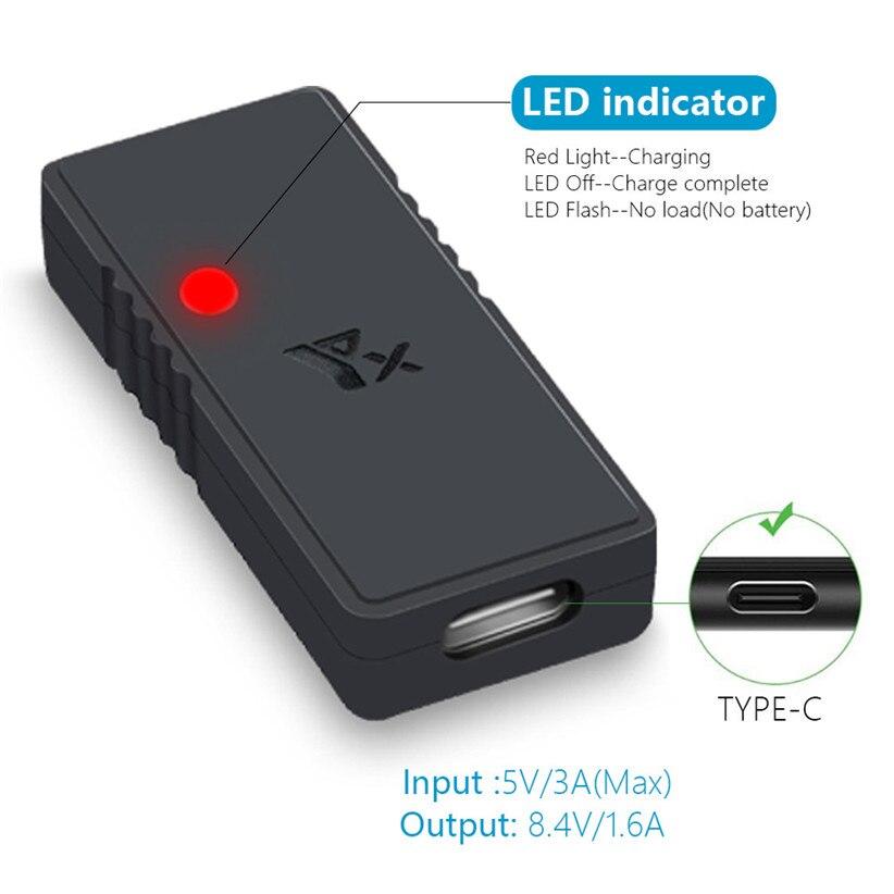 US $8.29 40% OFF|Szybka ładowarka USB QC3.0 do ładowania DJI Mavic Mini akcesoria do dronów z kablem typu C 912|Ładowarki akumulatorów do dronów|