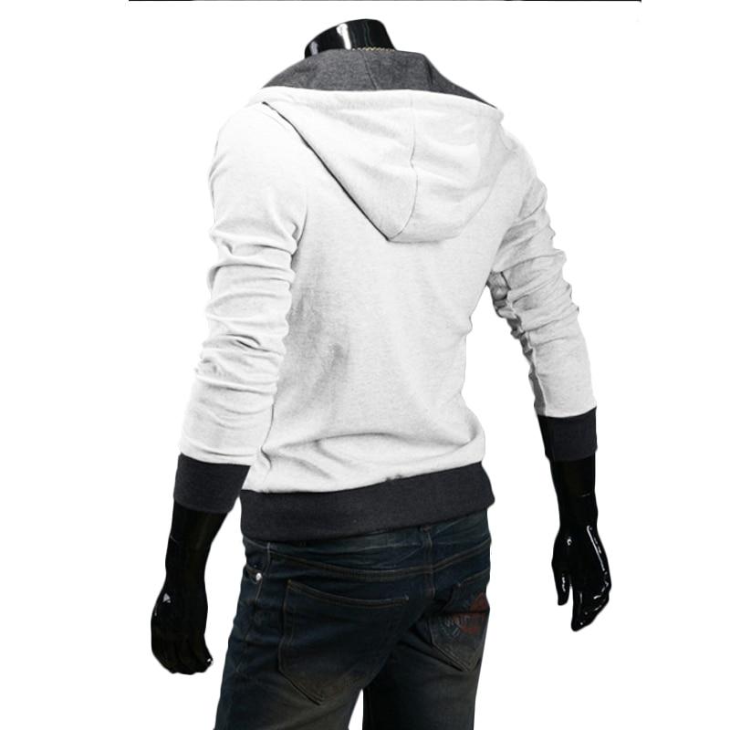 TANGYAXUAN 2019 Side Zipper Patchwork Hoodies Men Casual assasins creed Clothing mens hoodies and sweatshirts sudadera hombre 1