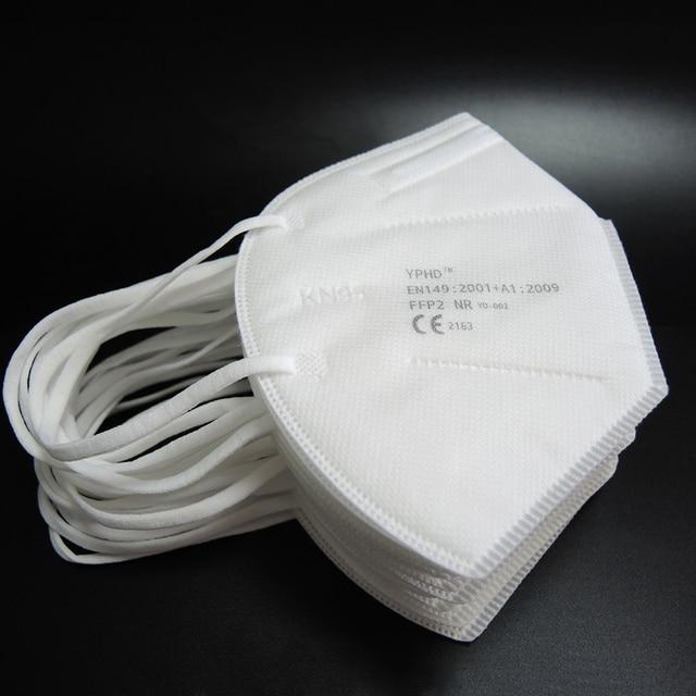 10/5pcs Reusable Mask FFP2 KN95 Face Mask Respirator Anti Dust PM2.5 Protective Anti Pollution FFP2 KN95 Face Masks Filter 2