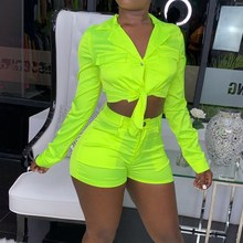 Sexy Denim Short Tops And Pencil Shorts  2 Piece Set Casual Outfits Women Fashion Short Sleeve Bandage Two Piece Set kgfigu two piece set 2019 summer high neck short sleeve cropped tops and shorts tracksuits women outfits 2 piece set women