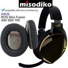 Misodiko almohadillas de repuesto para auriculares, Kit de almohadillas de repuesto para ASUS ROG Strix Fusion 300/ 500/ 700