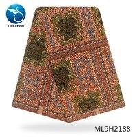 LIULANZHI african print dutch wax fabric 6 yards cotton ankara fabrics guaranteed printing party wax design ML9H2174 2190