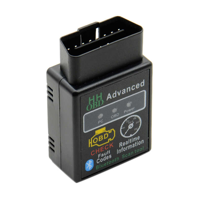 Obd ELM327 Can Bus Del Motore Del Controllo Auto Bluetooth Auto Diagnostico Scanner Tool OBD2 Obdii Adattatore di Interfaccia per Pc Android