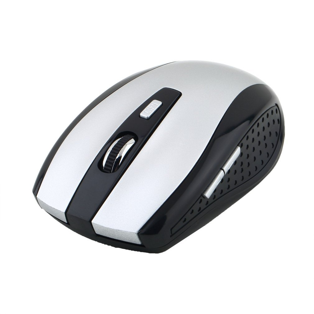 5 Buttons + 1 Scroll Wheel Mice With USB Receiver 2.4GHz Wireless Optical Mouse For PC Laptop Newest Drop Shipping Wholesale