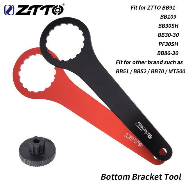 ZTTO DUB Wrench Bottom Bracket Tool 44mm 46mm 16 24 Notch Installation Tool Remover Repair For ZTTO BB109 BB30 PF30 BB 51 BB52