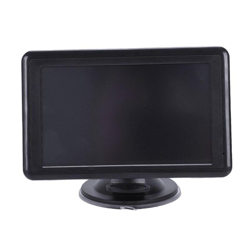 7 дюймов Автомобильный навигатор gps контактный экран навигация голосовой навигатор 128 МБ 8 ГБ MP3/MP4 FM карта Ближнего Востока