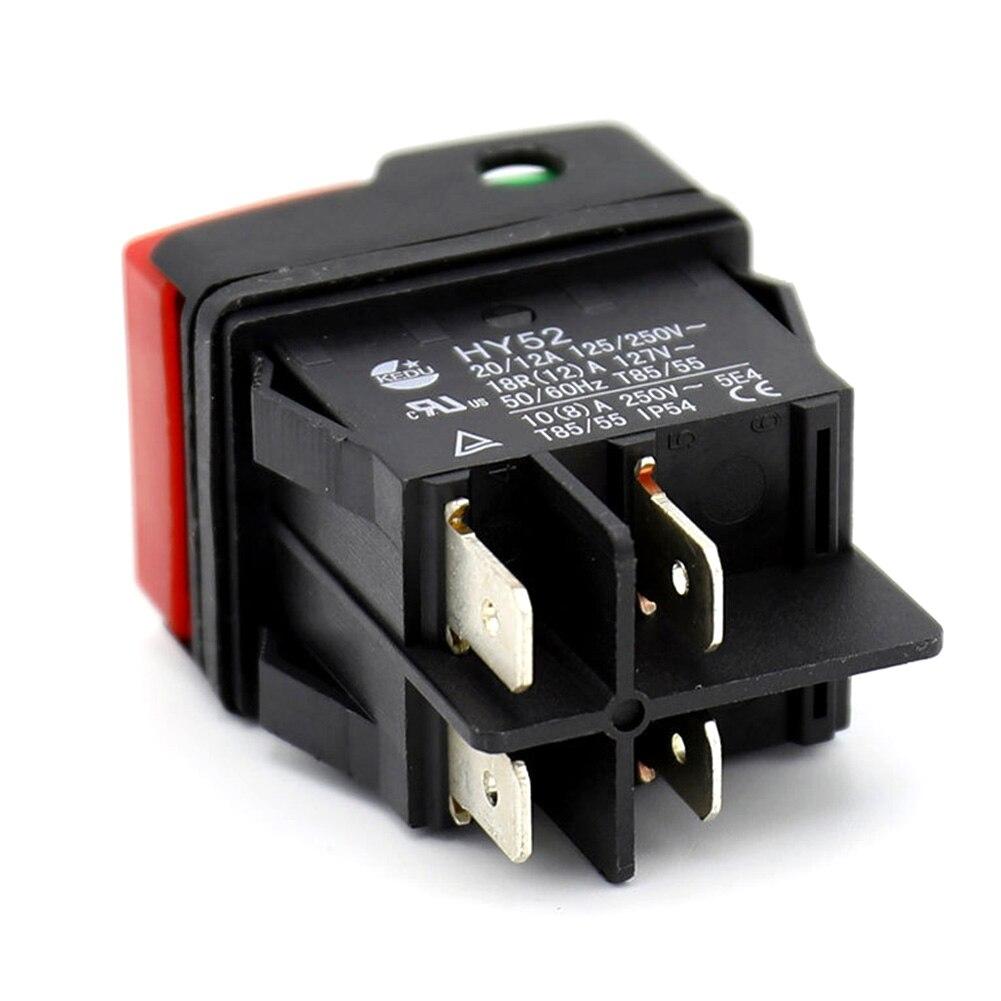 1Pc Auto Interruptor De Circuito Automático Cubierta Protector de la manga de goma PVC Negro Fusible