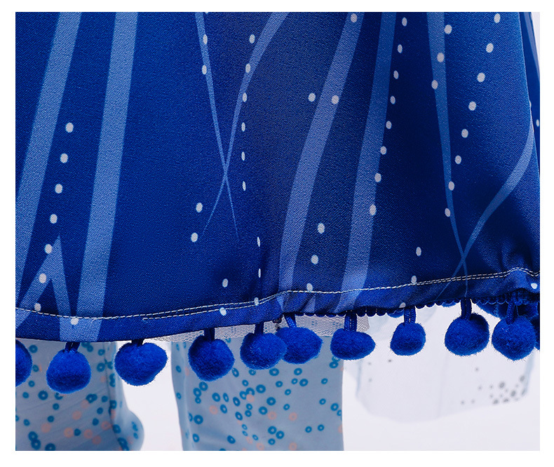 H9cf3ebb6929c4503b5d674430c6005bbc Unicorn Dresses For Elsa Costume Carnival Christmas Kids Dresses For Girls Birthday Princess Dress Children Party Dress fantasia