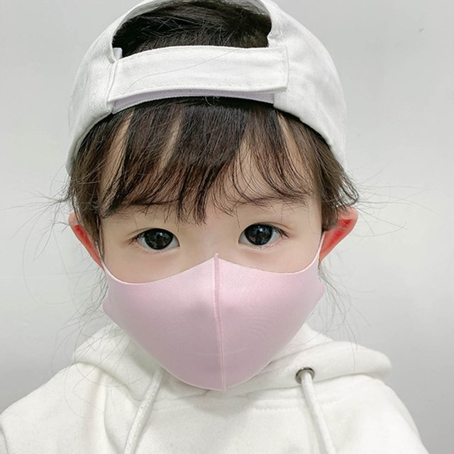 10pcs Three-dimensional thick protective mask breathable children's mask mouth mask anti dust proof flu face masks for child 1