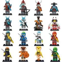 1 шт. фигурки-игрушки legoed Ninjagoes фигурки Kai, jay, Cole Zane Ллойд оружие Ninjagoes фигурки строительные блоки кирпичи игрушки
