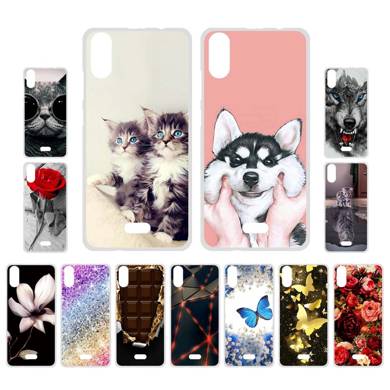 Ojeleye Silicon Case For Asus Zenfone Go ZB452KG ZB500KL Case Soft Cartoon Cover For ASUS Max Shot ZB634KL Pro M1 M2 ZB631KL(China)