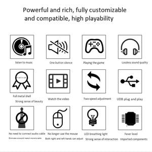 Image 4 - Usb التحكم في مستوى الصوت ، ضياع جهاز كمبيوتر شخصي المتكلم الصوت وحدة تحكم حجم المقبض ، ضبط التحكم الرقمي مع مفتاح واحد كتم وظيفة