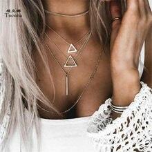 Tocona – colliers bohémiens pour femmes, multicouches, couleur argent, 6424