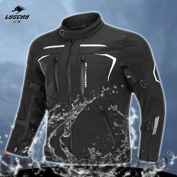 2020 nueva marca de Chaqueta de motocicleta de invierno impermeable Moto Cross Chaqueta de motociclista/Tourser/pantalones Chaqueta Moto Hombre mantener el calor