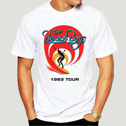 Limited Edition!!! The Beach Boys Tour 1983 Vintage T-Shirt Loose Size Top Tee Shirt 0756A