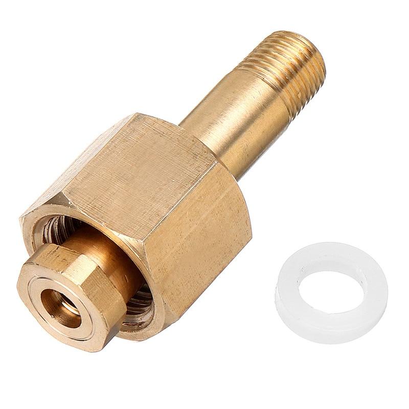 Regulador de Dióxido Bocal com Arruela Carbono Válvula Entrada Porca Bronze Conjunto Acessórios Peças Ferramenta Din 477 – W21.8 Co2