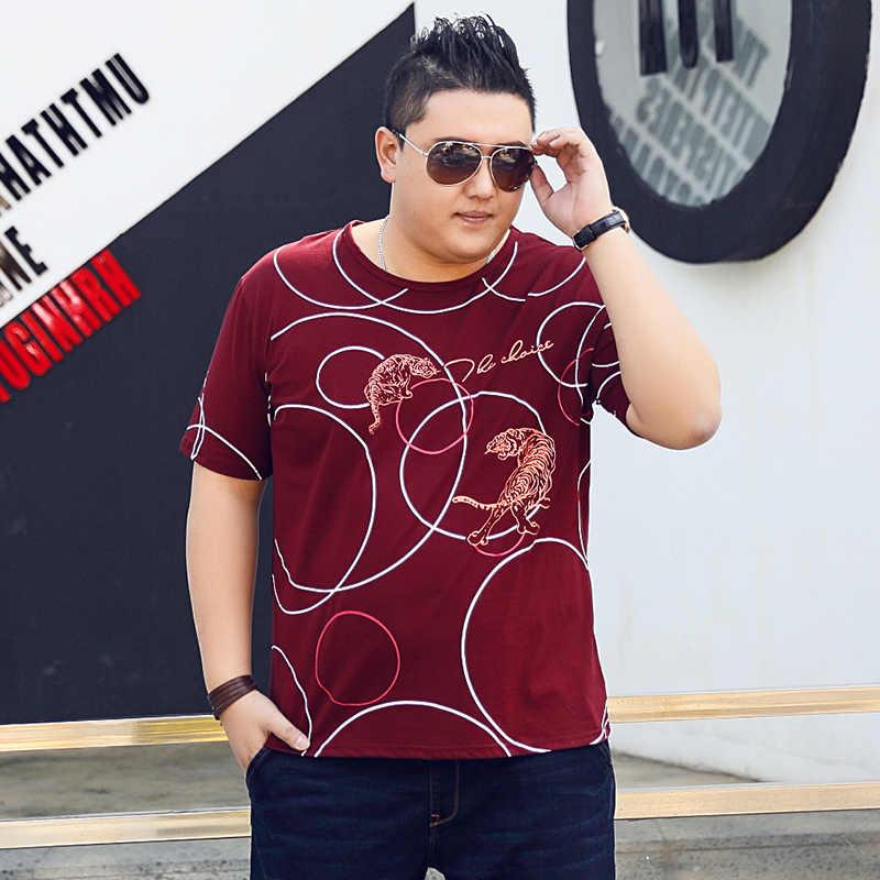 Plus size 10xl 8xl 6xl 5xl manga curta t camisa masculina moda marca de design algodão camiseta masculina qualidade impressão tshirts o-neck