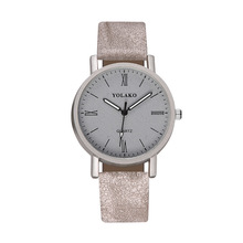 YOLAKO Fashion Watch Women Roman Numeral Frosted Surface Ladies Wrist Luxury Brand Luminous Quartz Relogio Feminino 2020