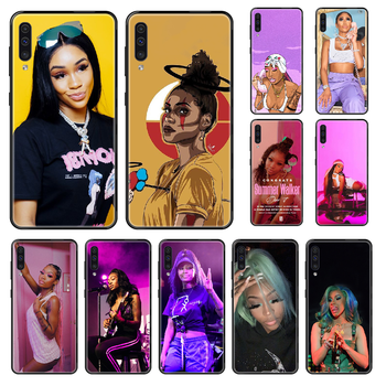 Singer Summer Walker Phone case For Samsung Galaxy A 3 5 8 9 10 20 30 40 50 70 E S Plus 2016 2017 2018 2019 black silicone image
