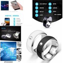 Neue NFC Multifunktionale Intelligente Ring Für Android Technologie Finger Smart Verschleiß Finger Digitalen Ring Wearable Verbinden Smart