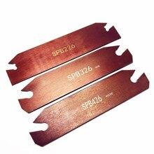 SPB26-2/3/4/5 outer diameter cutting grooving knife holder high hardness slotting blade for SP200/SP300/SP400 tool set