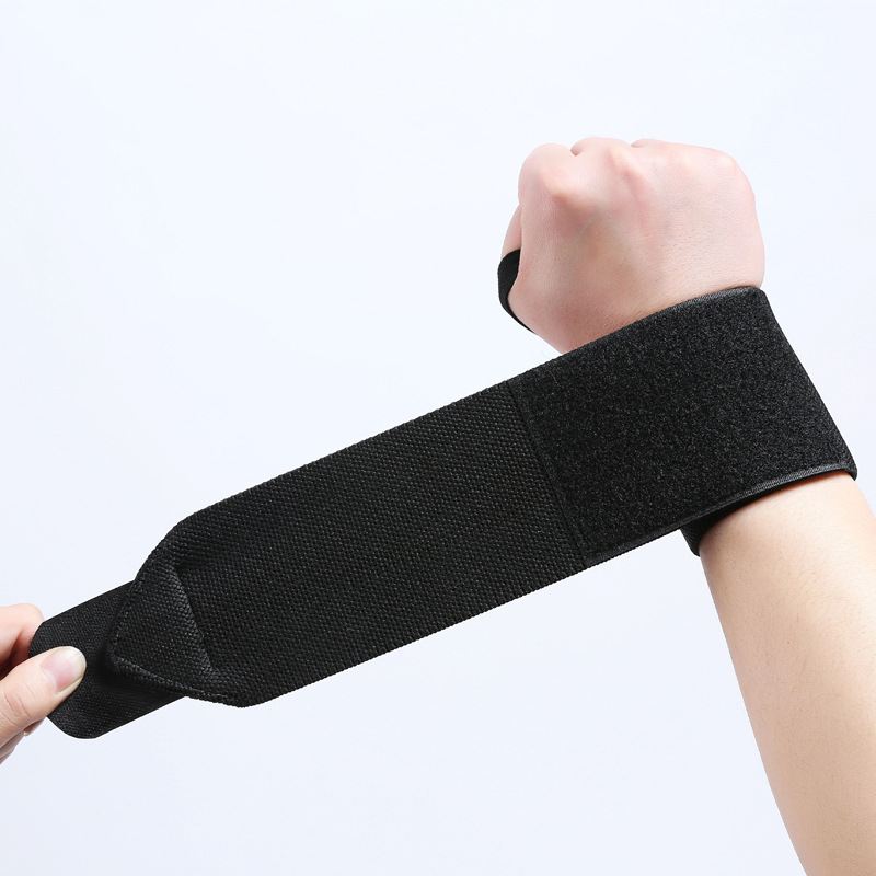 Direct Supply Profession Sports Pressurized Twining Wristbands Bandage Sports Wrist Fitness Weightlifting