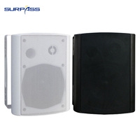 Indoor and Outdoor Wall Mount Stereo Speaker Public Broadcasting System PA System Wall Bluetooth Speaker Pro Audio