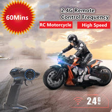 RC Stunt Motorcycle RC dirft Car RC Motorcycle Remote Control Motorbike 360 degree rotation Drift Car Toy one hour driving Cars(China)