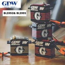 Gdw bls992hv bls995hv servo digital ccpm tamanho padrão digital metal servo para rc racer versão helicóptero avião