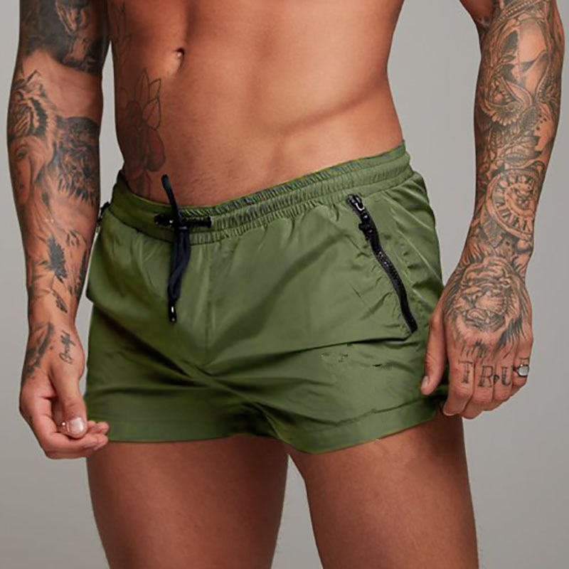 2019 Mens Fitness Bodybuilding Shorts Mens Summer Casual Cool Short Pants Male Jogger Workout Beach Breechcloth Bottoms MEN