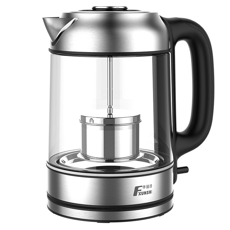 1.7L high borosilicate glass electric kettle LED blue anti-dry cooking teapot water kettle  electric tea kettle electric kettle