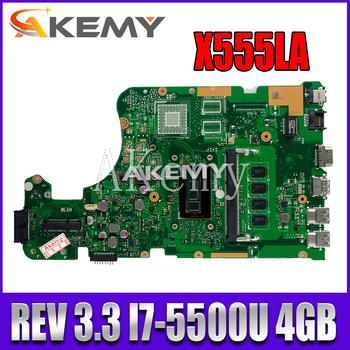 k43sv motherboard gt520m 1gb rev 4 1 for asus a43s x43s k43sv k43sj laptop motherboard k43sv mainboard k43sv motherboard X555LD REV 3.3 X555LAB Motherboard For Asus X555LJ X555LB X555LA X555L Laptop Motherboard Mainboard Test Ok  I7-5500U 4GB-RAM GM