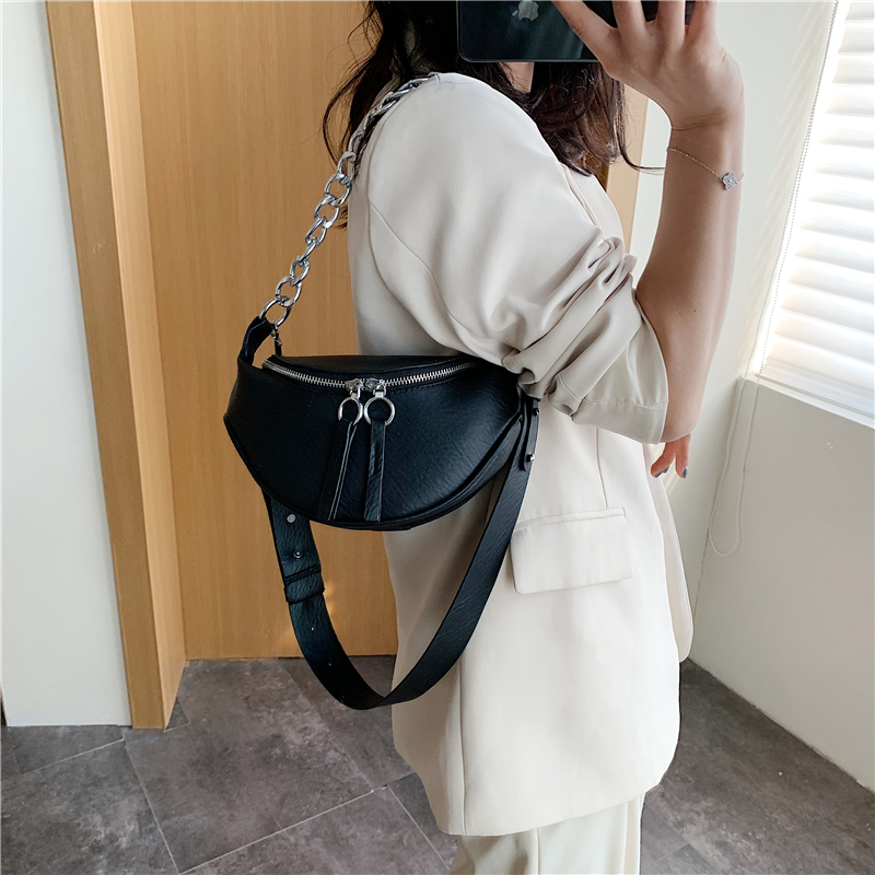 2020 branco ombro mensageiro bolsas pequeno peito saco viagem