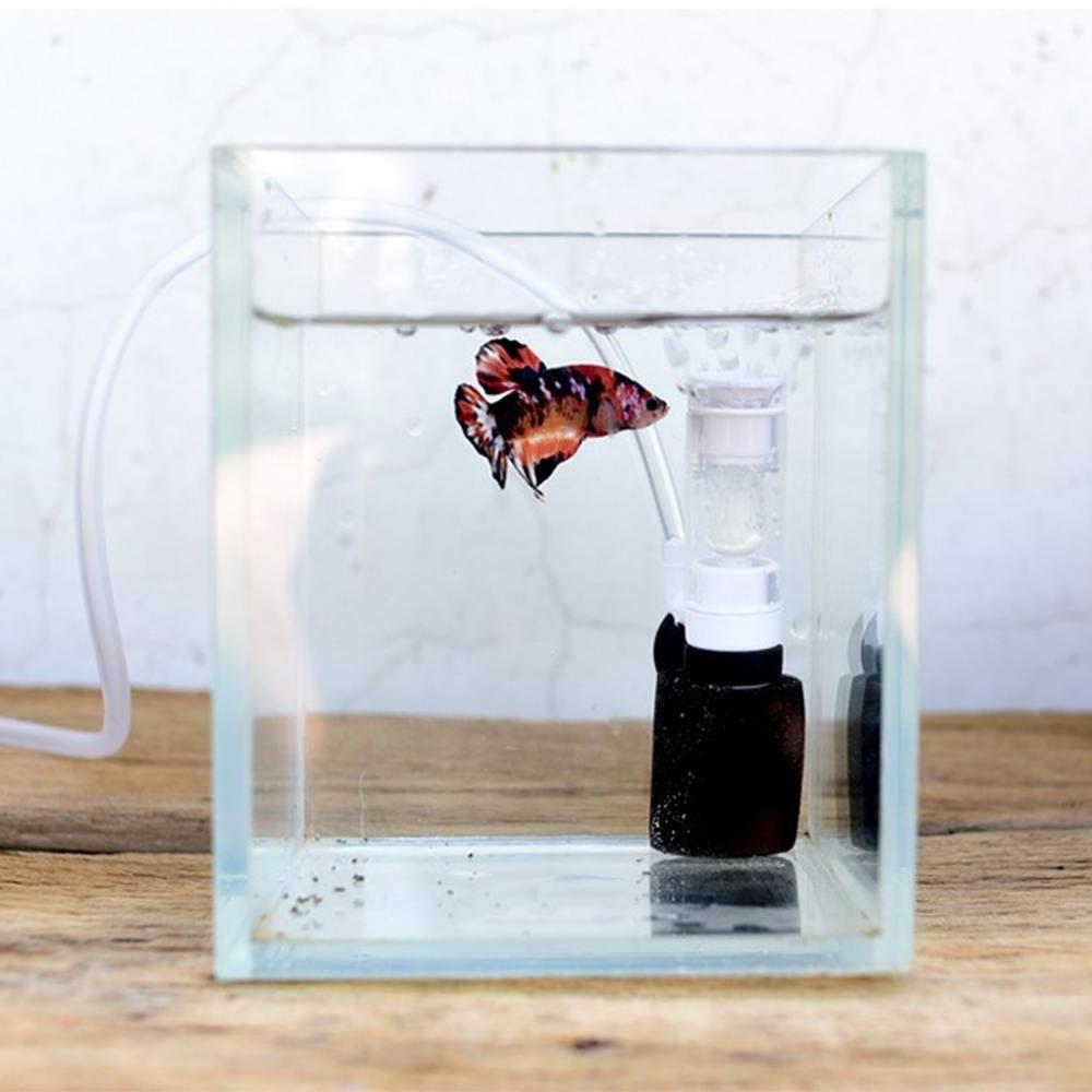 Mini Aquarium Fish Tank Super Mute Small Pneumatic Filter Water Purification Submersible Oxygen Fish Aquarium Pump Tools