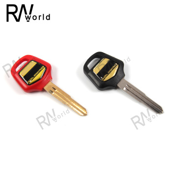 Motorcycle Uncut Blade Blank Key Embryo For HONDA Goldwing GL1800 2001-2012 GL 1800 GL-1800 2002 2003 2004 2005 2006-2010 2011 image