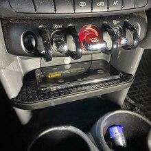 10W Qi Wireless Car Charger Draadloze Telefoon Oplader Opladen Plaat Accessoires Voor Bmw Mini F55 F56 2017 2018 2019 voor Iphone
