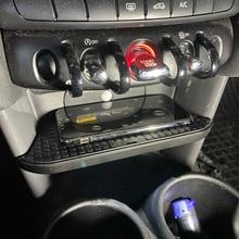 Cargador de coche inalámbrico QI de 10W, accesorios para BMW MINI F55 F56 2017 2018 2019 para iPhone