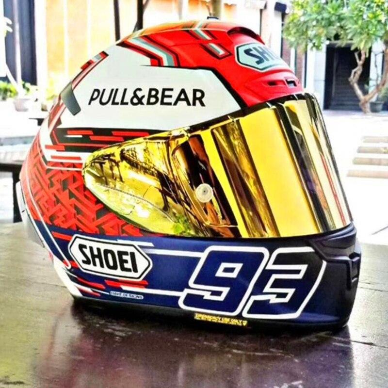2019 Fast Ship Full Face Helmet Safe Racing X12 X14 93 Pull BEAR Cat Model Motor Motorcycle Hat Safe ECE22 05 Helmet Safe Ship
