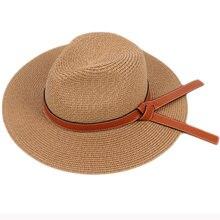 Шляпа федора ht3138 с широкими полями для мужчин и женщин однотонная