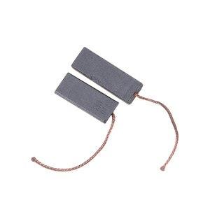2 uds 5*12,5*35mm negro Gris Carbón cepillo Motor plomo para lavadora