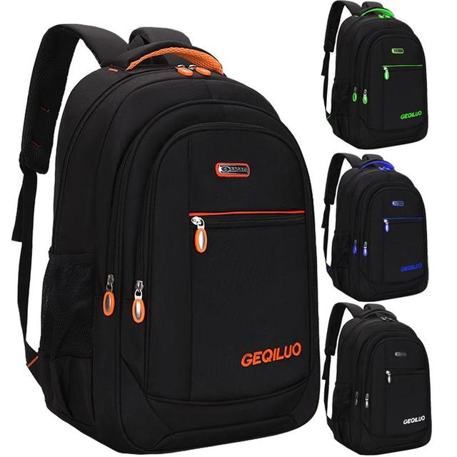 Men's backpack Unisex Waterproof Oxford 15 Inch Laptop Backpacks Casual Travel Boys Student School Bags Large Capacity Hot Sale 1