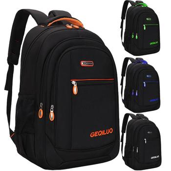 Men's backpack Unisex Waterproof Oxford 15 Inch Laptop Backpacks Casual Travel Boys Student School Bags Large Capacity Hot Sale oxford cloth waterproof unisex large capacity student backpack simple casual backpack college style gray